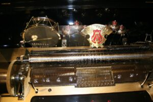 bell drum organ music box