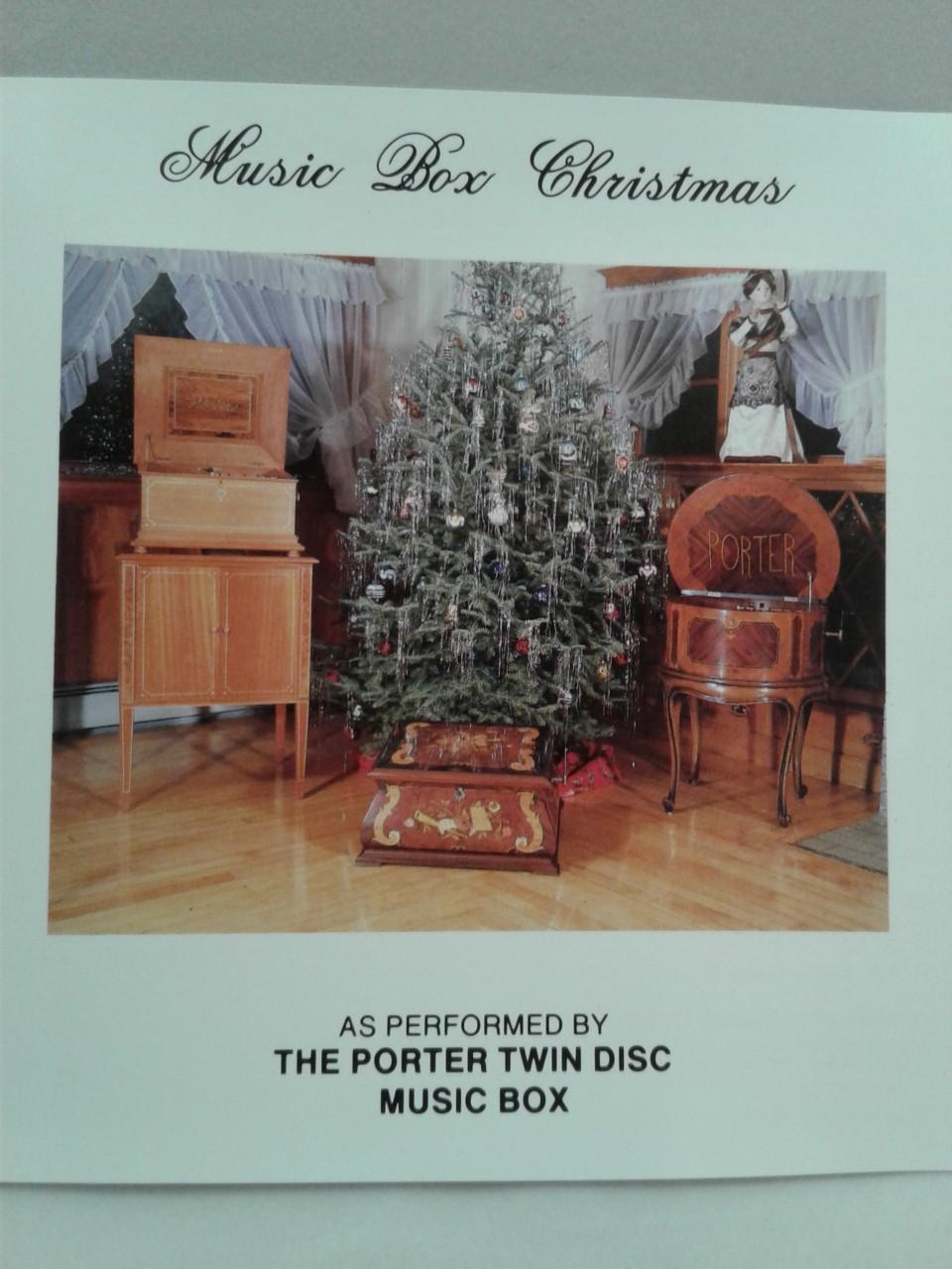 Music Box Christmas - Porter Music Box Company