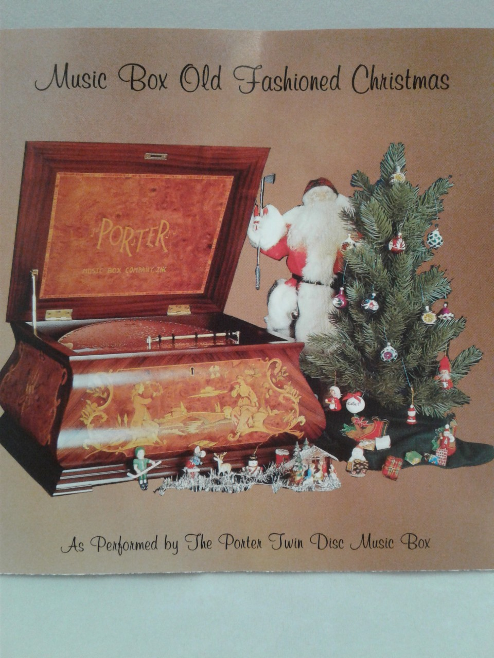 Music Box Old Fashioned Christmas #46 - Porter Music Box Company